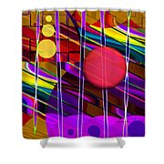 Girls Just Wanna Have Fun Shower Curtain