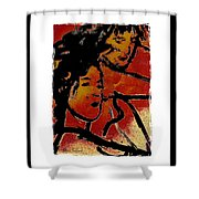 Girls Shower Curtain