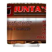 Giunta's Prime Meat Shower Curtain