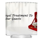 Give A Royal Treatment To Your Guests - Rustik Craft Shower Curtain
