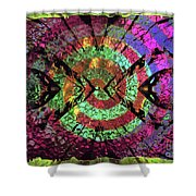 Give It A Whirl Shower Curtain