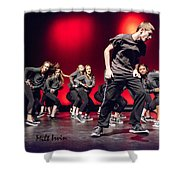 Give It All You Got 9 Shower Curtain