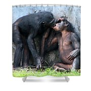 Give Me A Kiss Shower Curtain