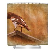 Give Me A Minute Please Shower Curtain