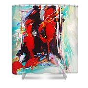 Give Me Something I Can Show My Heart Shower Curtain