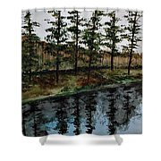Give Peace A Try Shower Curtain