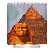 Giza Sphinx 2 Shower Curtain