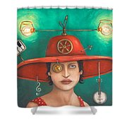 Gizmo 7 Shower Curtain
