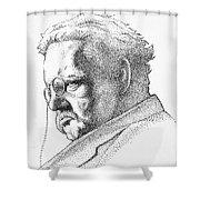 Gk Chesterton Shower Curtain