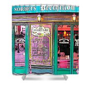 Glaces And Sorbets Berthillon Shower Curtain