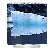 Glacial Ice Shower Curtain