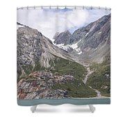 Glaciated Valley Shower Curtain