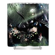 Glaciation Shower Curtain