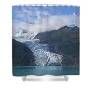 Glacier Bay Afternoon Shower Curtain