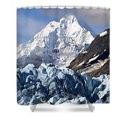 Glacier Bay Alaska Photograph Shower Curtain