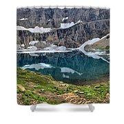 Glacier Icebergs Shower Curtain