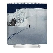 Glacier - Id 16235-220312-6699 Shower Curtain