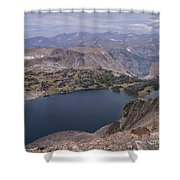 Glacier Lake 3 Shower Curtain