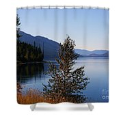 Glacier Lake Shower Curtain
