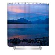 Glacier - Lake Mcdonald Dawn Shower Curtain