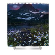 Glacier National Park At Dawn Shower Curtain