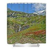Glacier National Park Shower Curtain