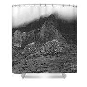 Glacier National Park Montana Horizontal Shower Curtain