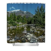 Glacier National Park-st Mary's River Shower Curtain