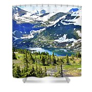 Glacier National Park2 Shower Curtain