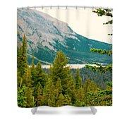 Glacier Np View Shower Curtain