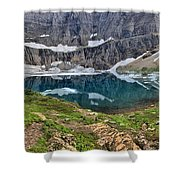 Glacier Paradise Shower Curtain
