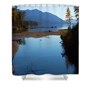 Glacier Park 10 Shower Curtain