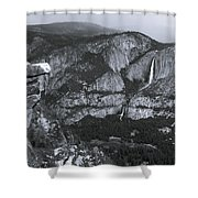 Glacier Point 1 Shower Curtain