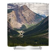 Glacier Road Shower Curtain by Stuart Deacon