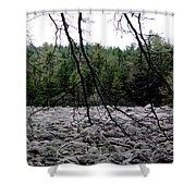 Glacier Rock 1 Shower Curtain