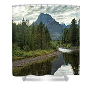 Glacier - Swiftcurrent Creek Shower Curtain