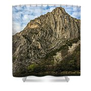 Glacier Swirl - Matka, Macedonia Shower Curtain