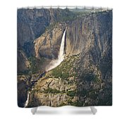 Glacierpoint Yosemitefalls Shower Curtain