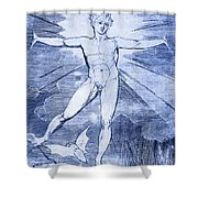 Glad Day By William Blake Shower Curtain