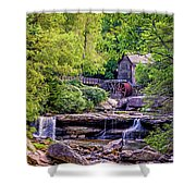 Glade Creek Grist Mill 3 Shower Curtain