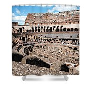 Gladiators And Christians Shower Curtain