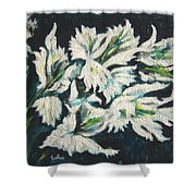 Gladioli Shower Curtain