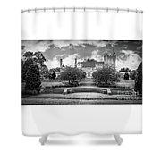 Glamorgan Castle Bw. Shower Curtain