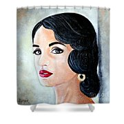 Glamour - 12 Shower Curtain