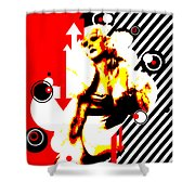 Glamour Gal Shower Curtain