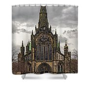 Glasgow Cathedral Front Entrance Shower Curtain