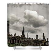 Glasgow Necropolis Graveyard Shower Curtain