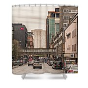 Glasgow Renfield Street Shower Curtain