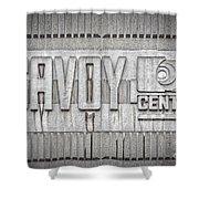 Glasgow Savoy Centre Shower Curtain