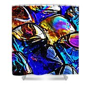 Glass Abstract 11 Shower Curtain